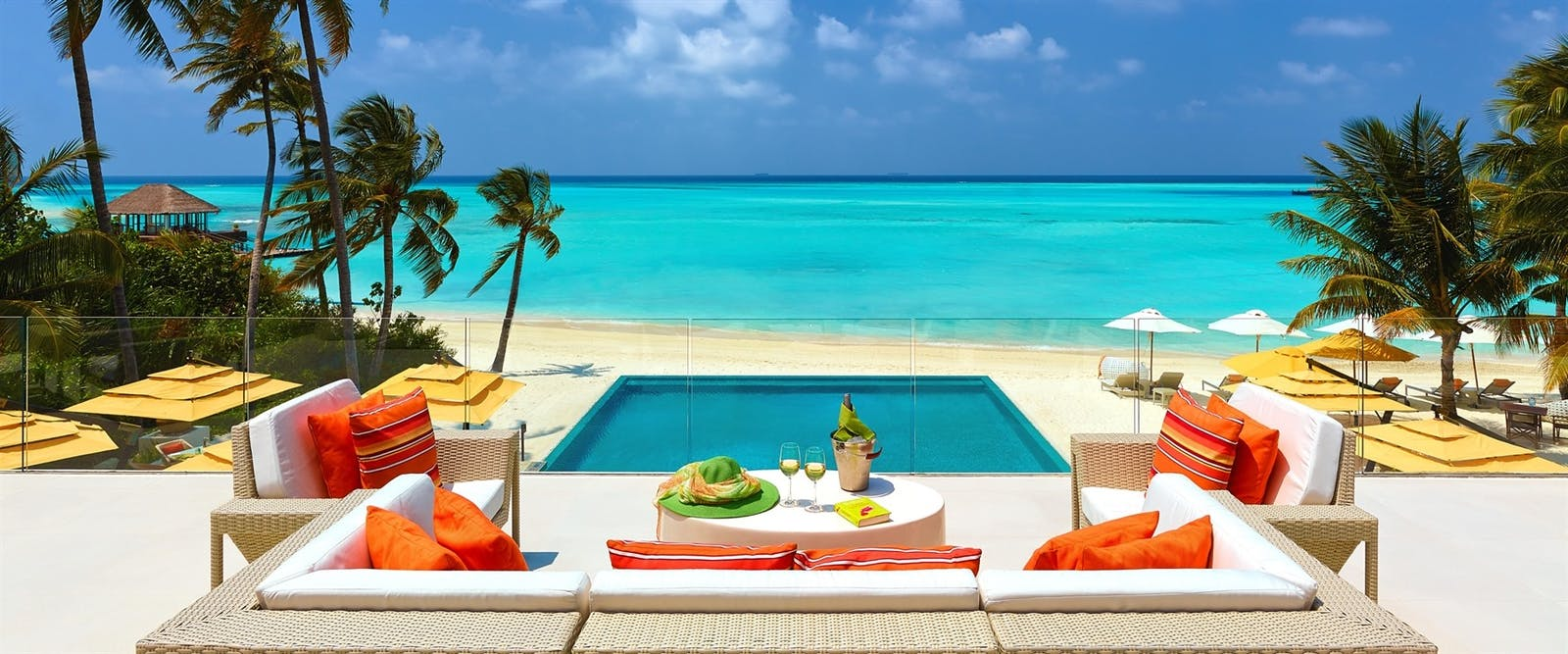 Fahrenheit Overlooking the Pool at Niyama Private Islands, Maldives, Indian Ocean