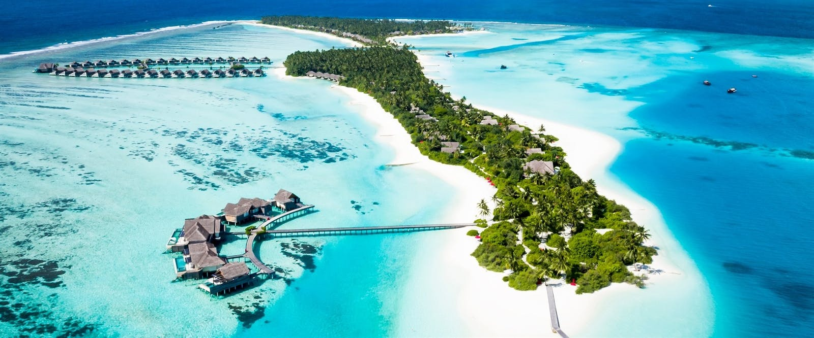 Aerial View of Niyama Private Islands, Maldives, Indian Ocean