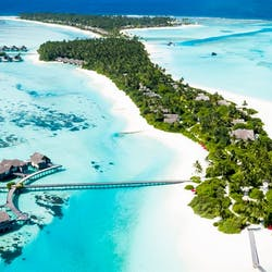 Aerial View of Niyama Private Islands, Maldives