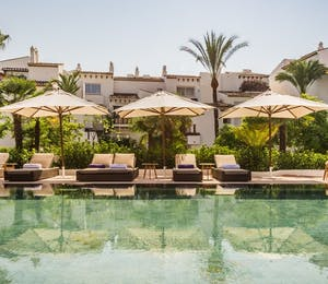 The pool at Nobu Marbella, Spain