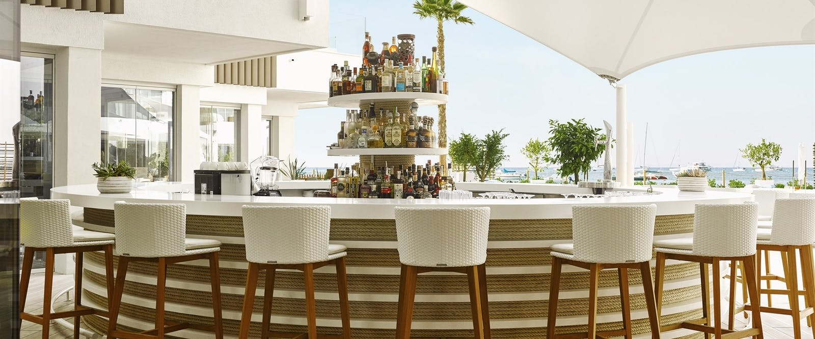 Seating Area at Nobu Hotel Ibiza Bay, Ibiza, Spain
