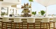 seating area at nobu hotel ibiza bay