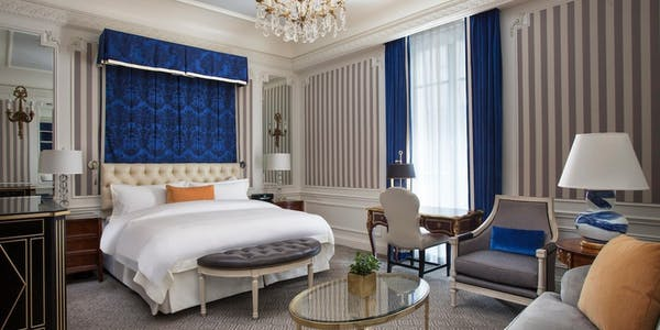 Deluxe Guest Room at The St Regis Hotel New York