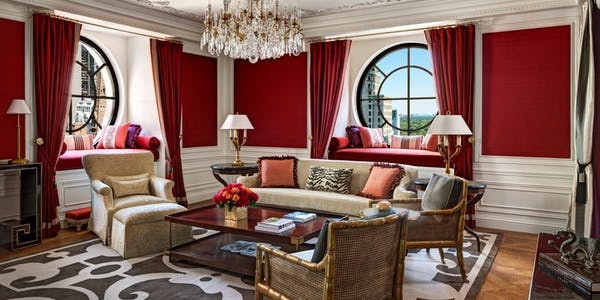 Imperial Suite at The St Regis Hotel New York