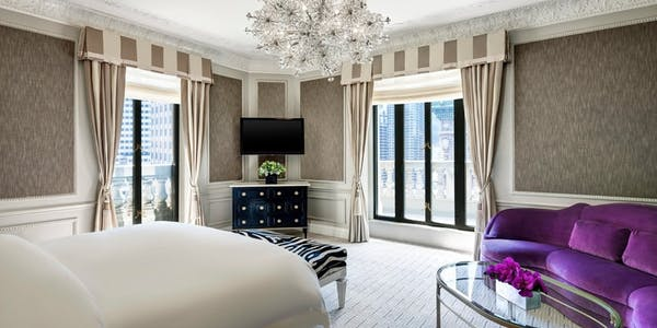 Presidential Suite at The St Regis Hotel New York