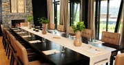 Dinning area at Nyungwe Forest Lodge, Rwanda