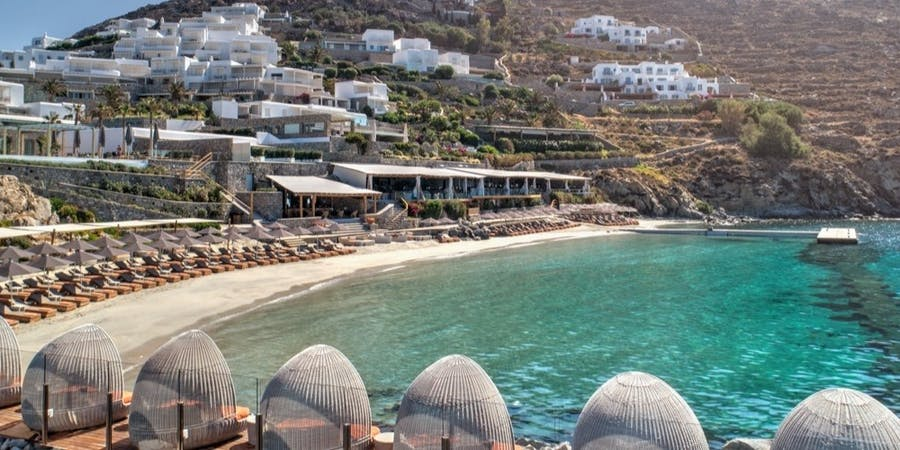 Overview of Santa Marina, A Luxury Collection Resort, Mykonos