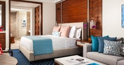 Guest bedroom at One&Only Ocean Club, Bahamas
