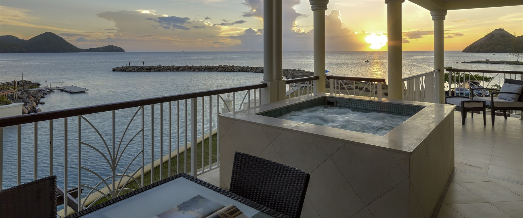 Ocean View Villa Suite with Plunge Pool at The Landings Resort and Spa by Elegant Hotels