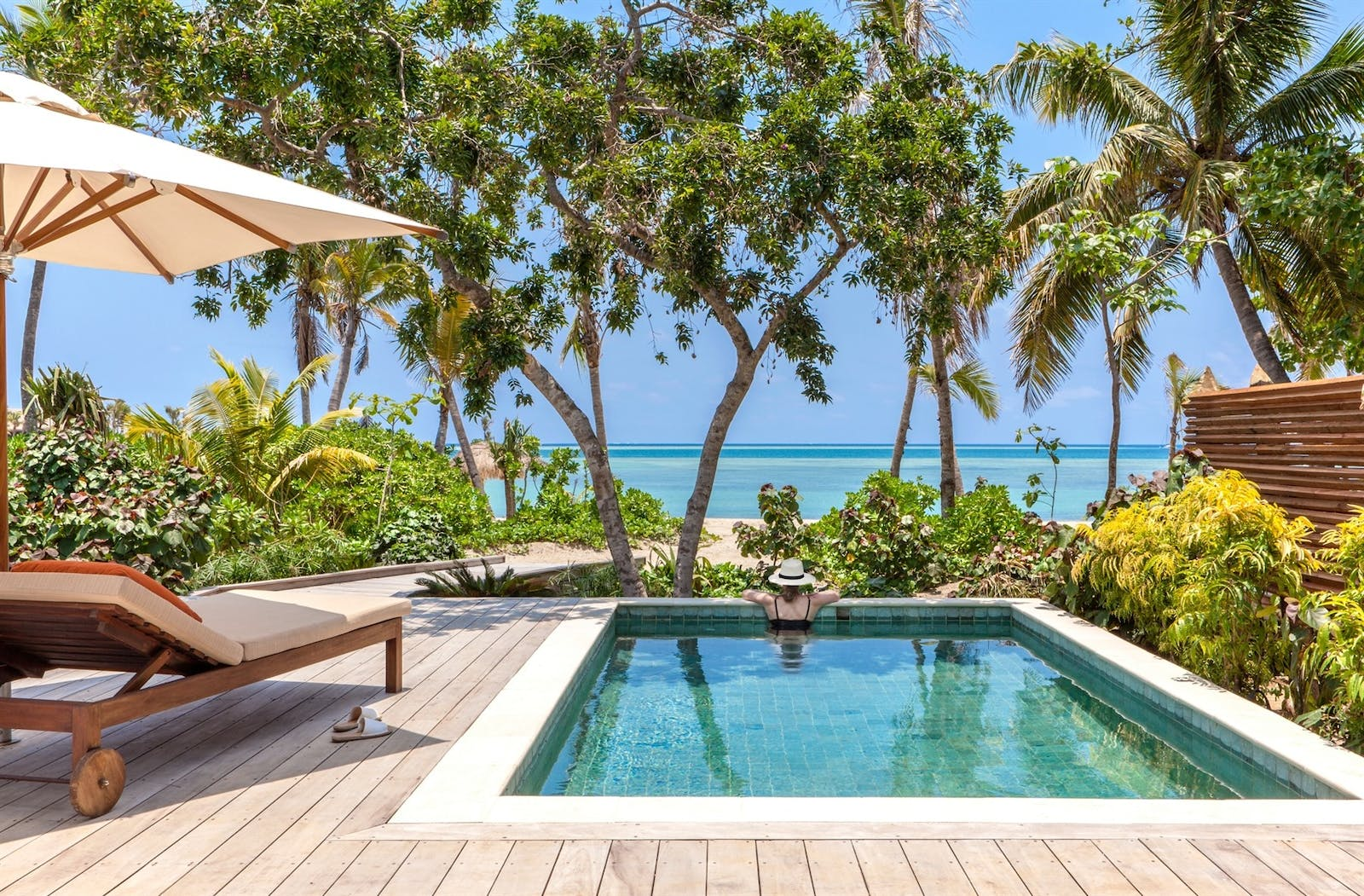 Beachfront Pool Villa at Six Senses Fiji