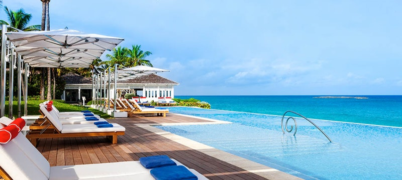 Pool at One&Only Ocean Club, Bahamas