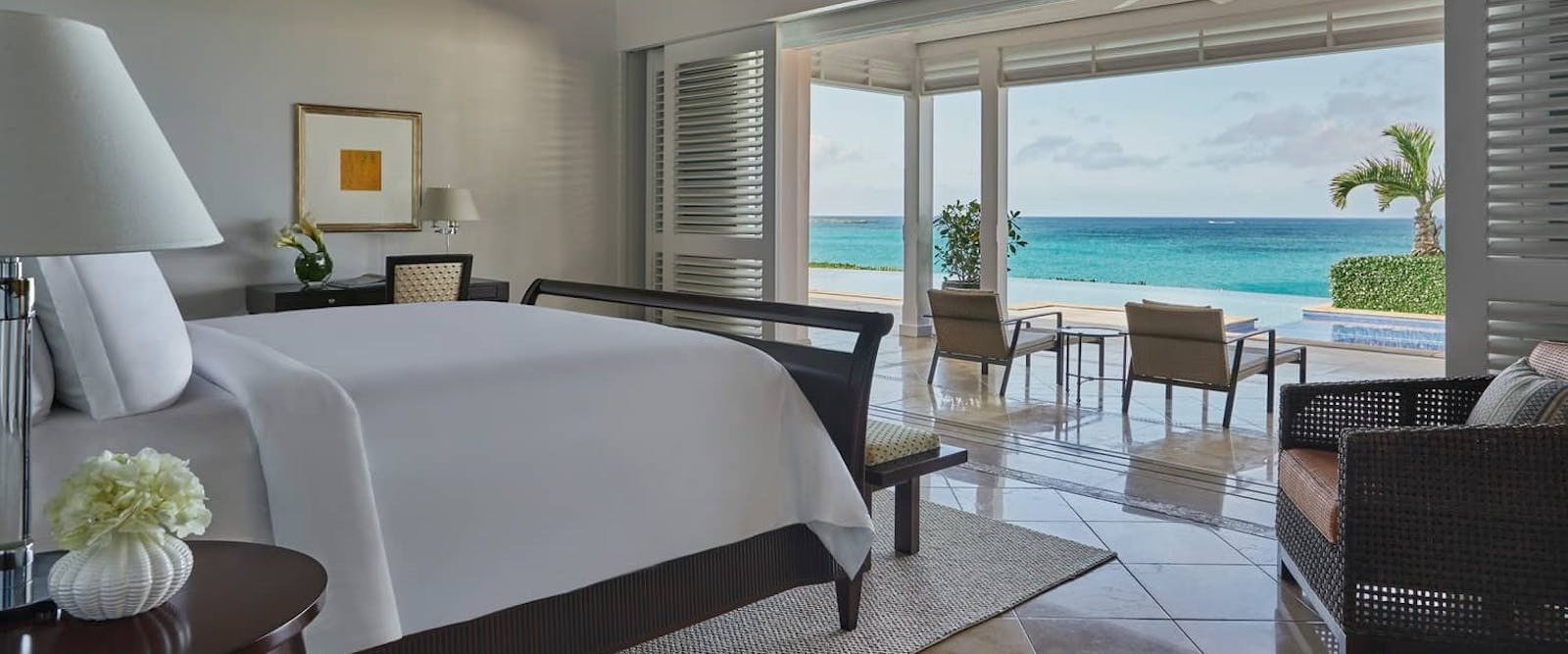 Hibiscus Four Bedroom Villa Residence at Ocean Club, Bahamas, Caribbean
