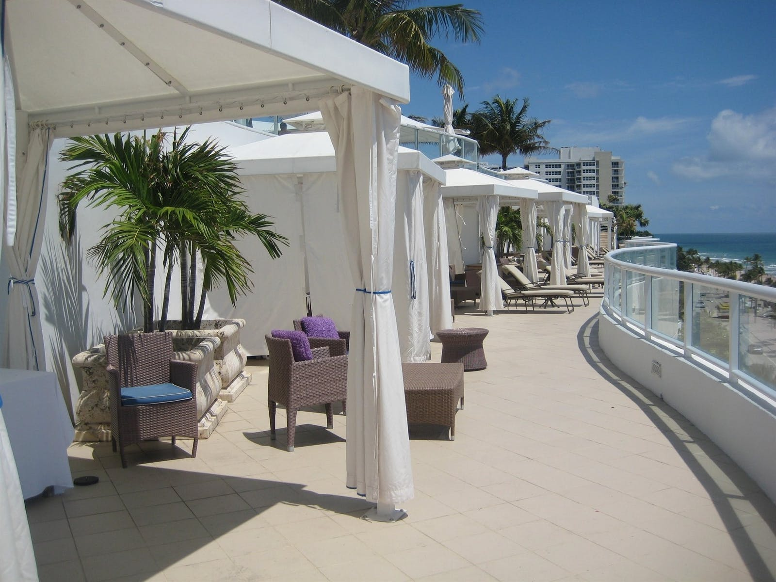 cabana pool deck at the ritz-carlton fort lauderdale