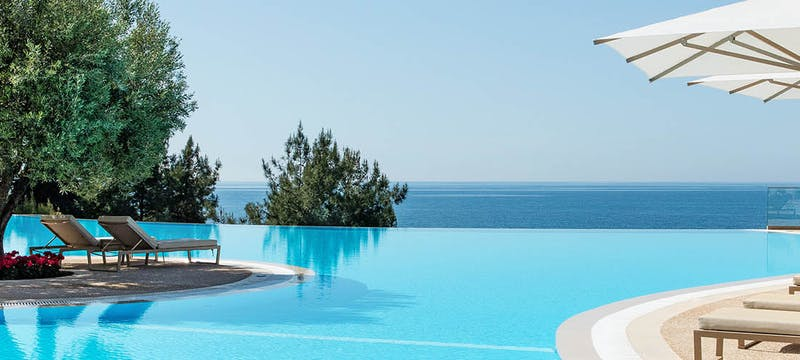 Pool Area at Ikos Oceania