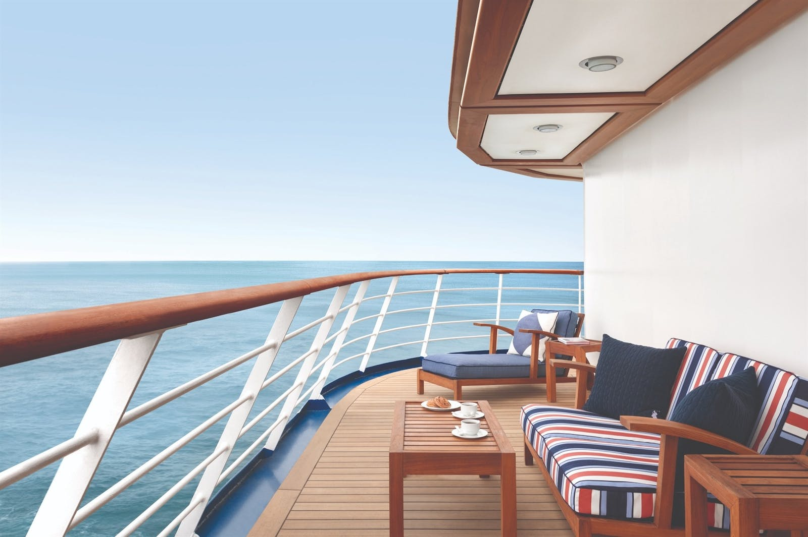 Suite Deck on the Oceania Riveria
