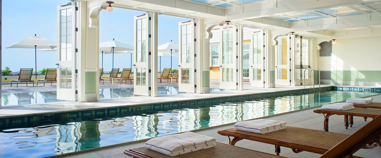 Ocean House Indoor Pool at Ocean House Rhode Island, New England