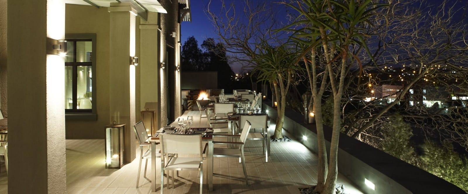 Outdoor Dining at Olive Exclusive, Namibia