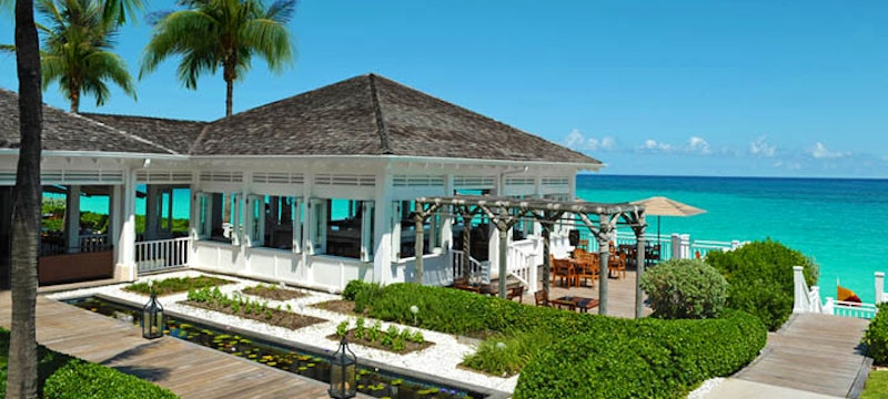 The exterior of Dune restaurant at One&Only Ocean Club, Bahamas