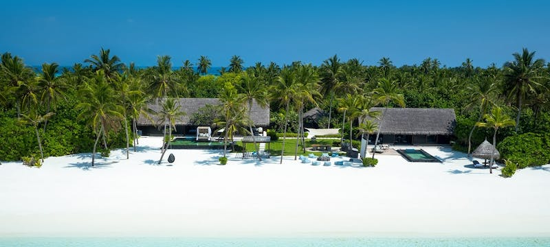The beach at One&Only Reethi Rah, Maldives