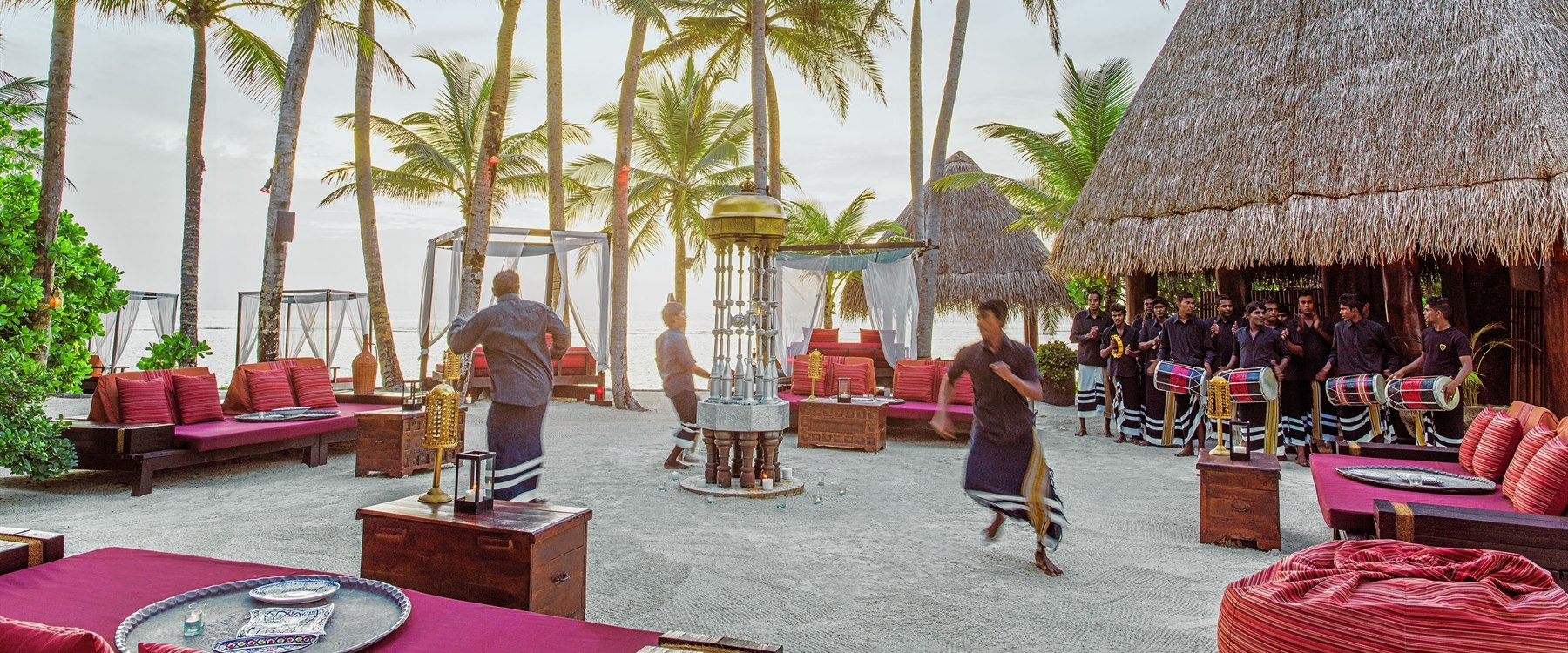 Fanditha Restaurant at One&Only Reethi Rah, Maldives