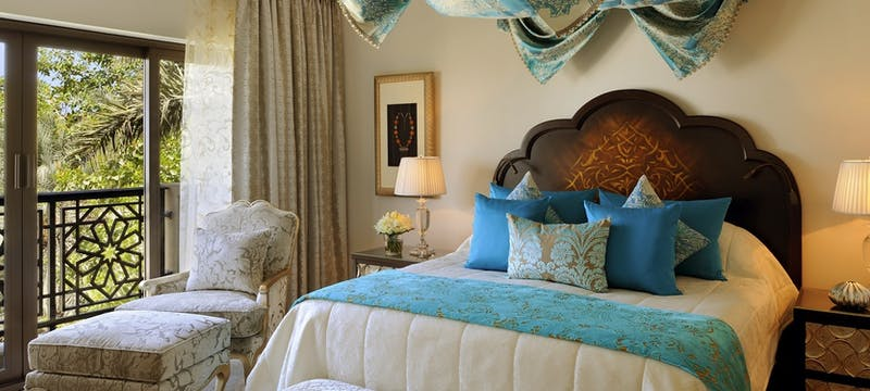 Executive suite bedroom at One&Only Royal Mirage - Arabian Court, Dubai