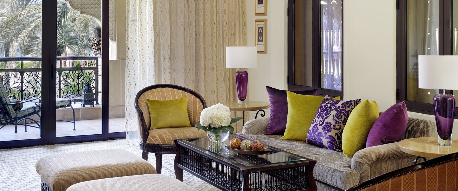 Executive Suite Living Room at One&Only Royal Mirage - The Residence & Spa, Dubai