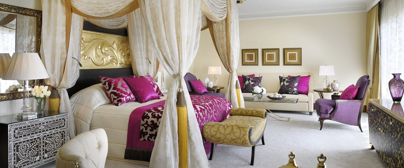 Royal Suite Master Bedroom at One&Only Royal Mirage - The Palace, Dubai