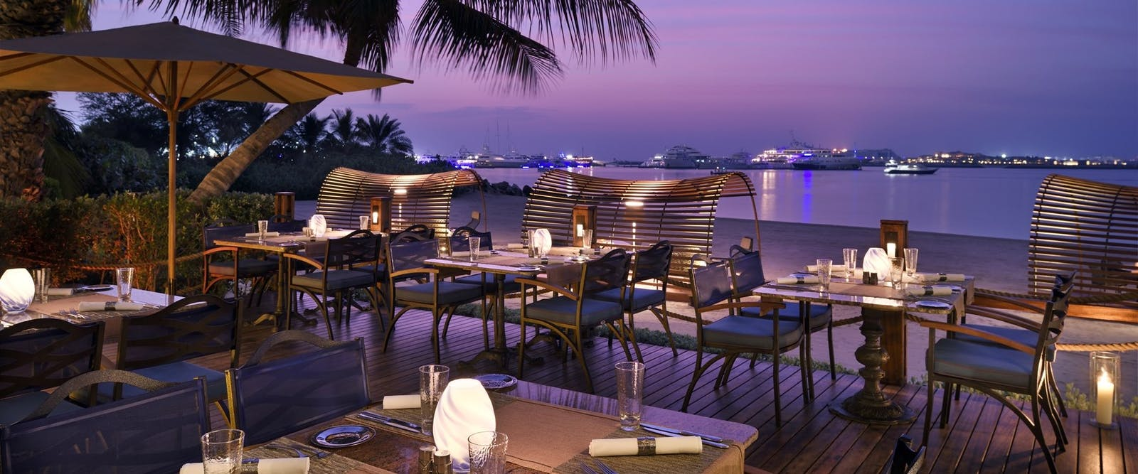 Beach Bar and Grill at One&Only Royal Mirage - The Palace, Dubai