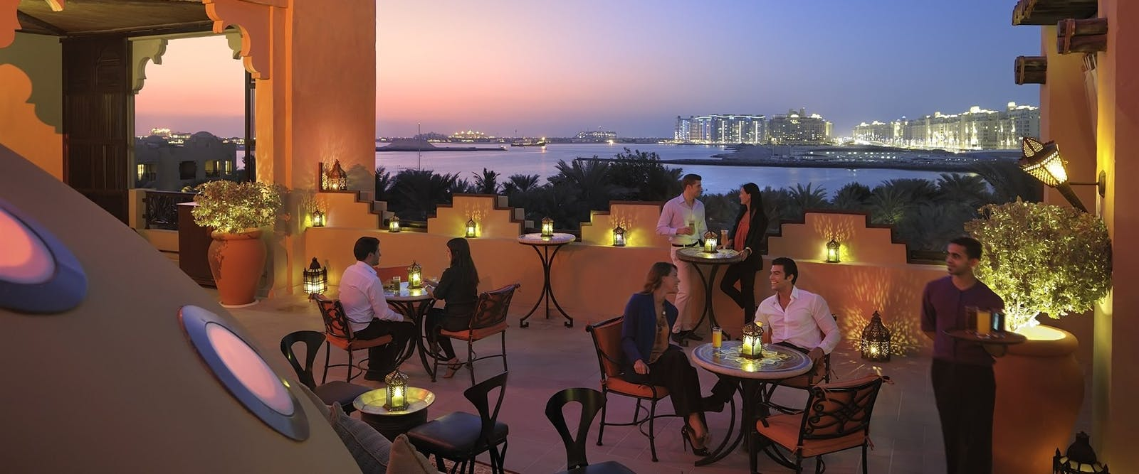 Rooftop Terrace at One&Only Royal Mirage - The Residence & Spa, Dubai
