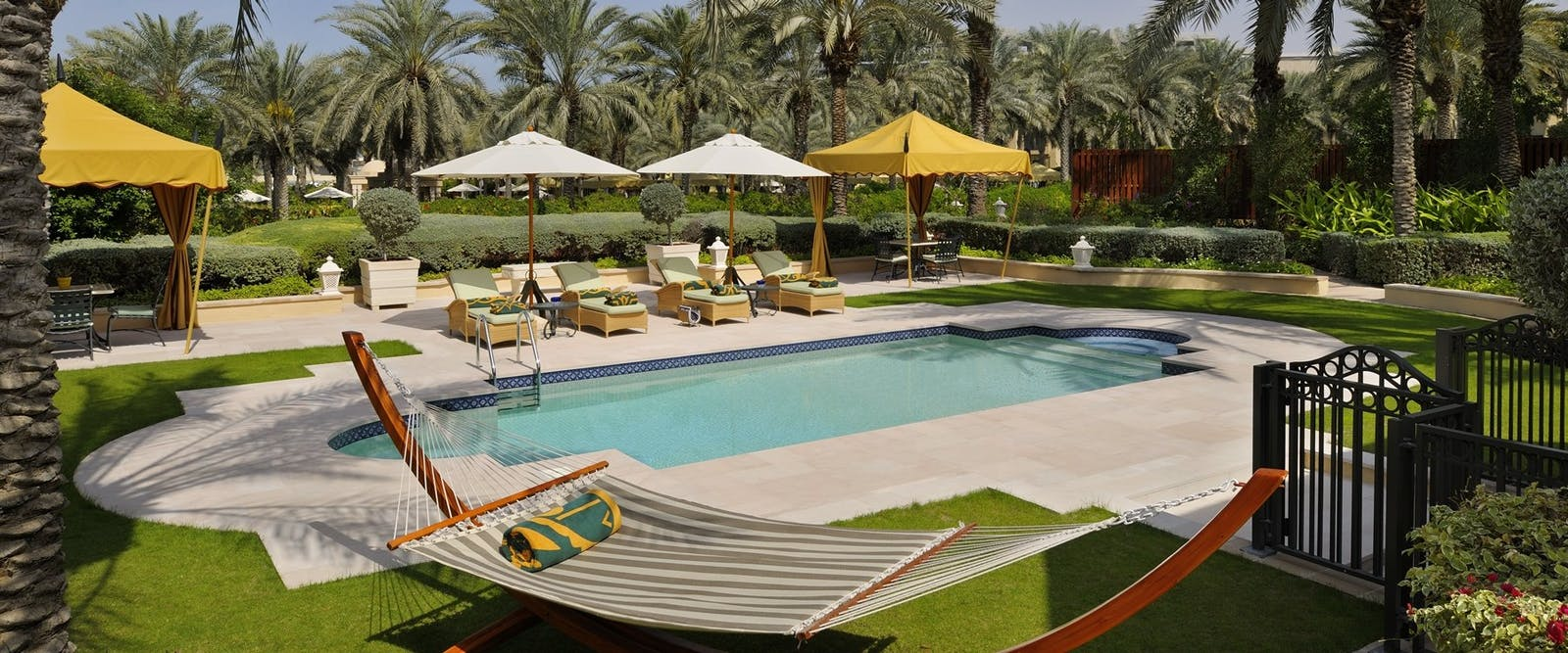 Beach Garden Villa Pool View at One&Only Royal Mirage - The Residence & Spa, Dubai