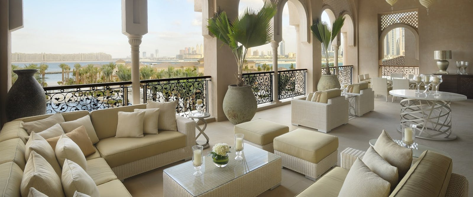 Grand Palm Suite Terrace at One&Only The Palm, Dubai
