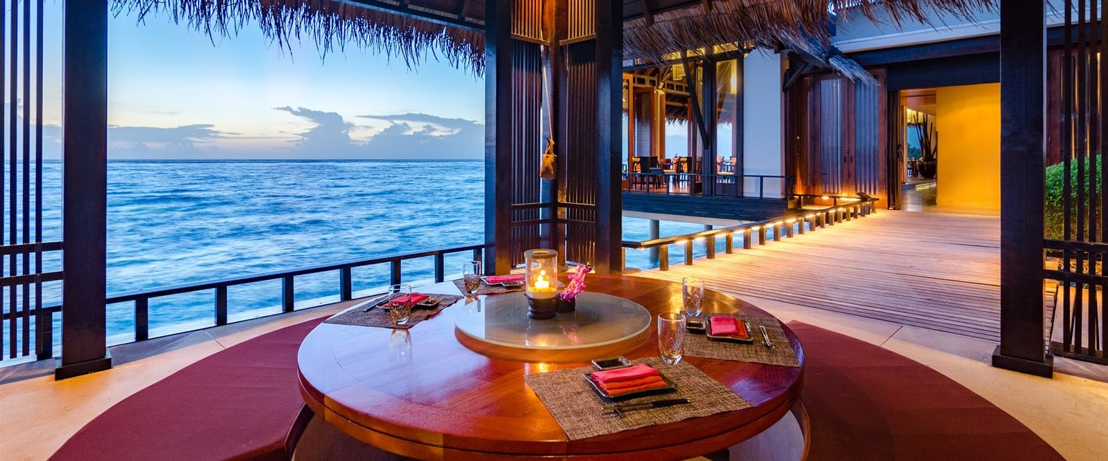 Tapasake Overwater Restaurant at One&Only Reethi Rah, Maldives, Indian Ocean