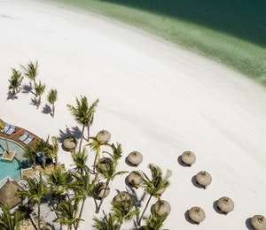 Aerial View of One&Only Le Saint Geran, Mauritius