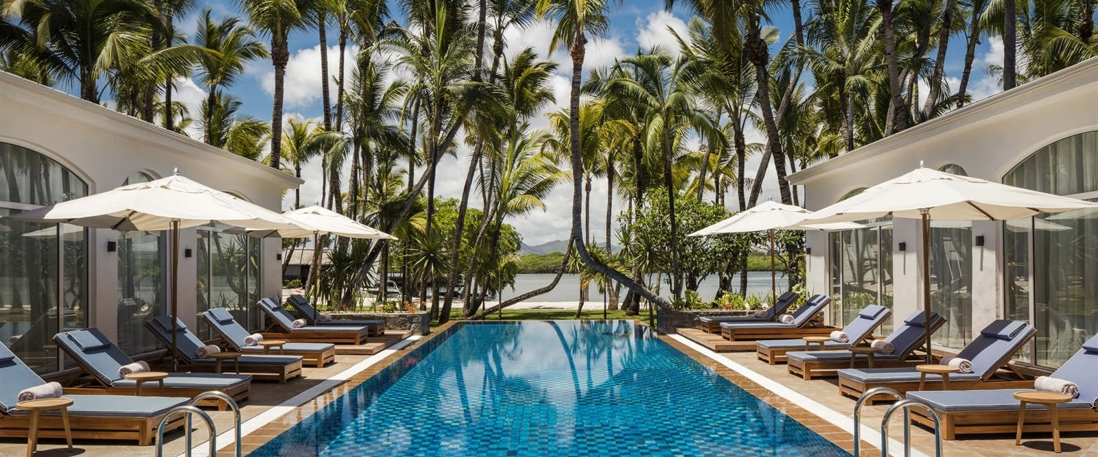 Spa Pool at One&Only Le Saint Geran, Mauritius