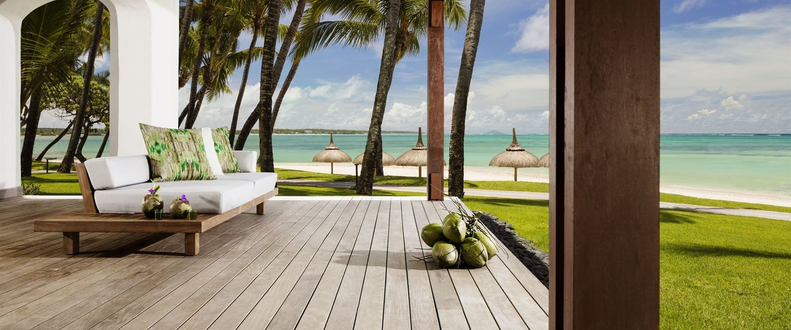 Ocean Suite Terrace at One&Only Le Saint Geran, Mauritius