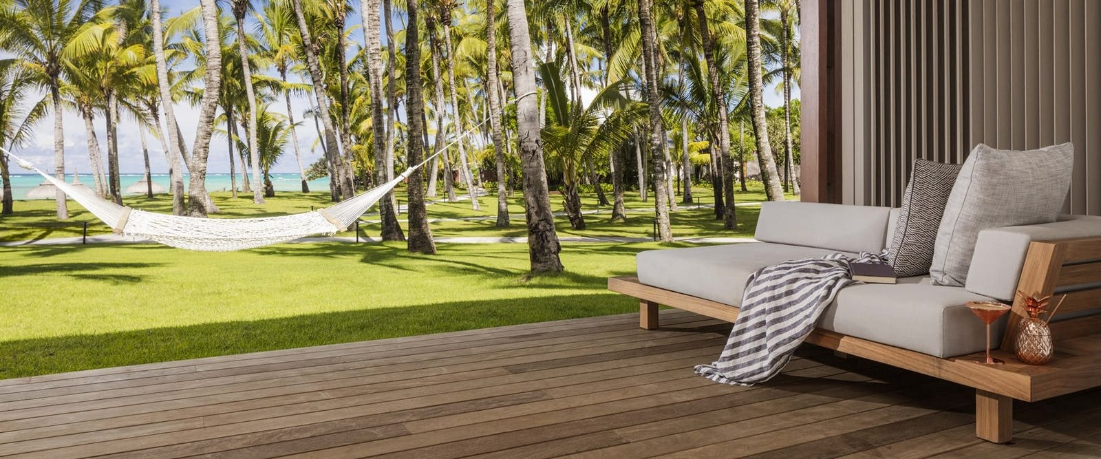 Ocean Suite Terrace with Hammock at One&Only Le Saint Geran, Mauritius