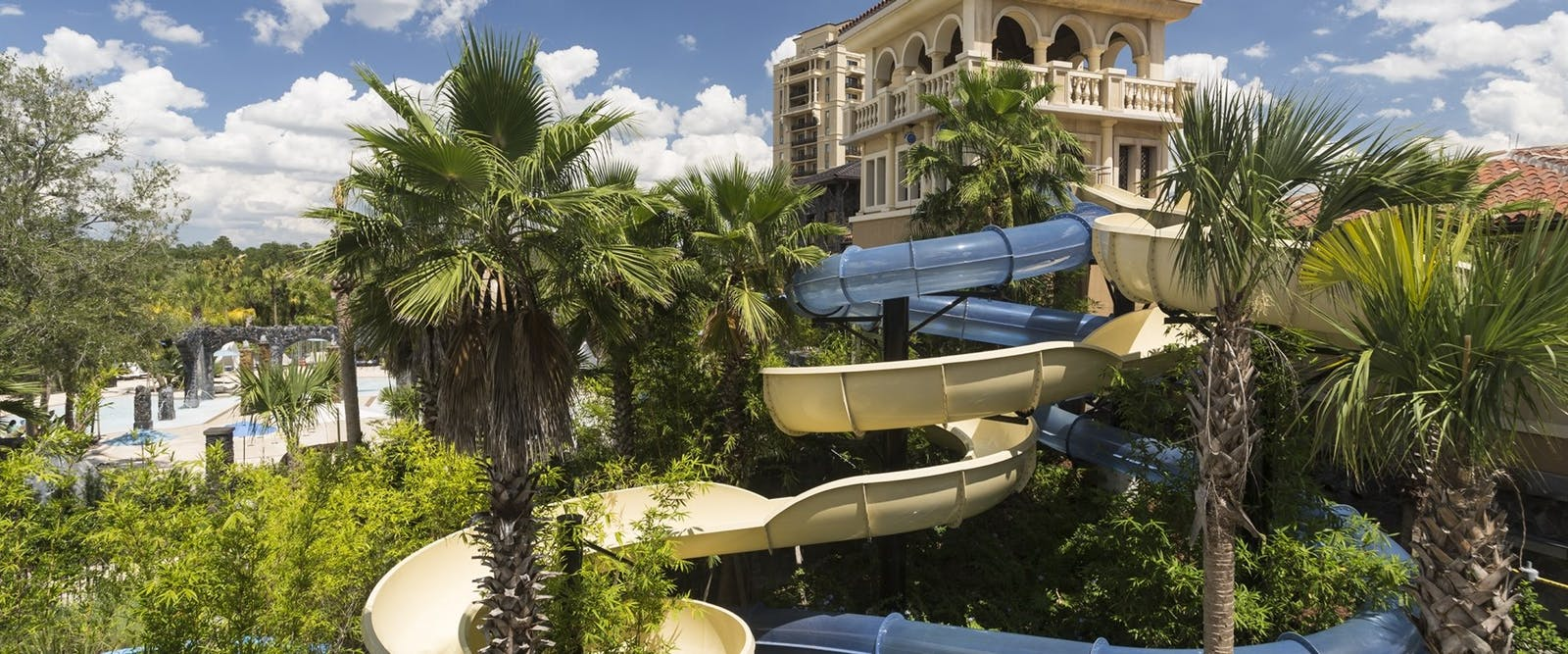 The Drop Waterslides at Four Seasons Resort Orlando at Walt Disney World Resort, Florida