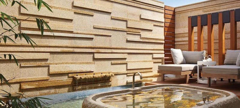 Outdoor bathroom at Hyatt Regency Danang Resort and Spa
