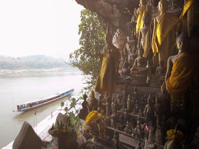 Luang Prabang – Pak Ou Caves – Kamu Lodge