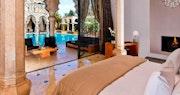 Villa Namaskar Bedroom at Palais Namaskar, Marrakech