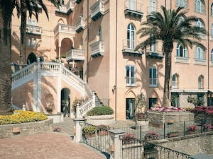 Front Entrance of Palazzo Avino, Amalfi Coast
