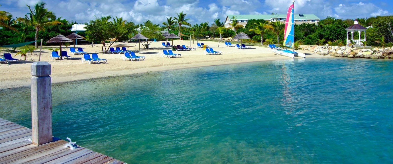 Beach at The Verandah Resort & Spa, Antigua