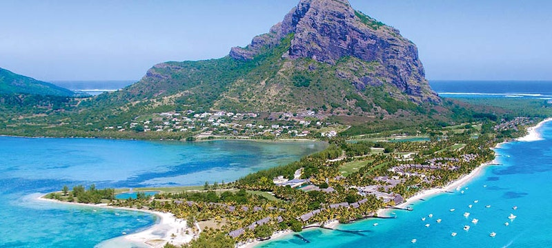 Ariel View at Paradis Beachcomber Golf Resort & Spa