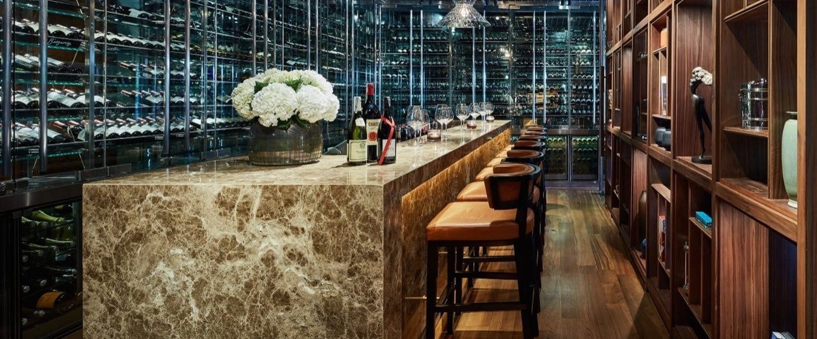 Wine Cellar at Park Hyatt Saigon, Vietnam