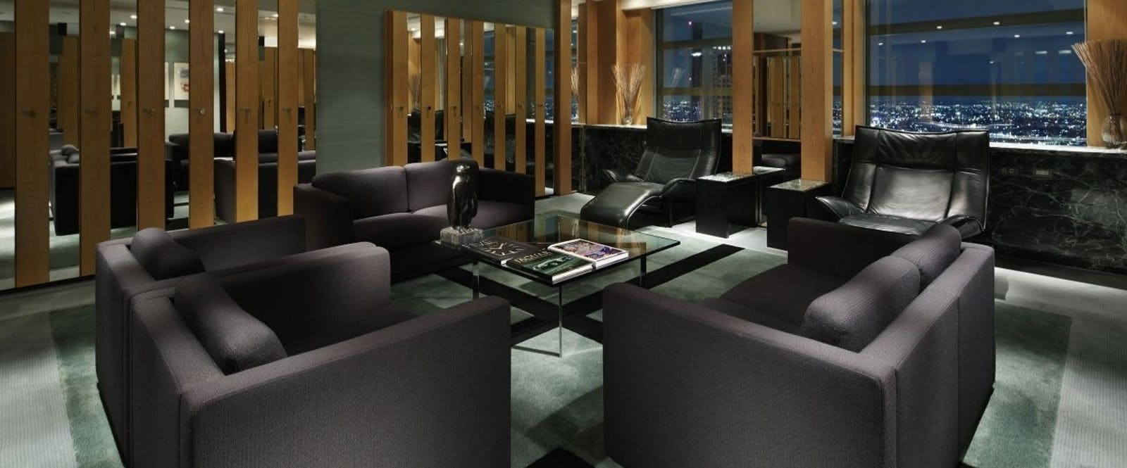 Club on the Park Lounge at Park Hyatt Tokyo, Japan