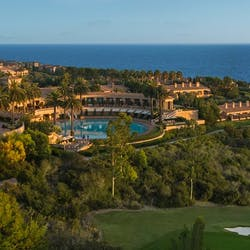 Panoramic of The Resort At Pelican Hill, California