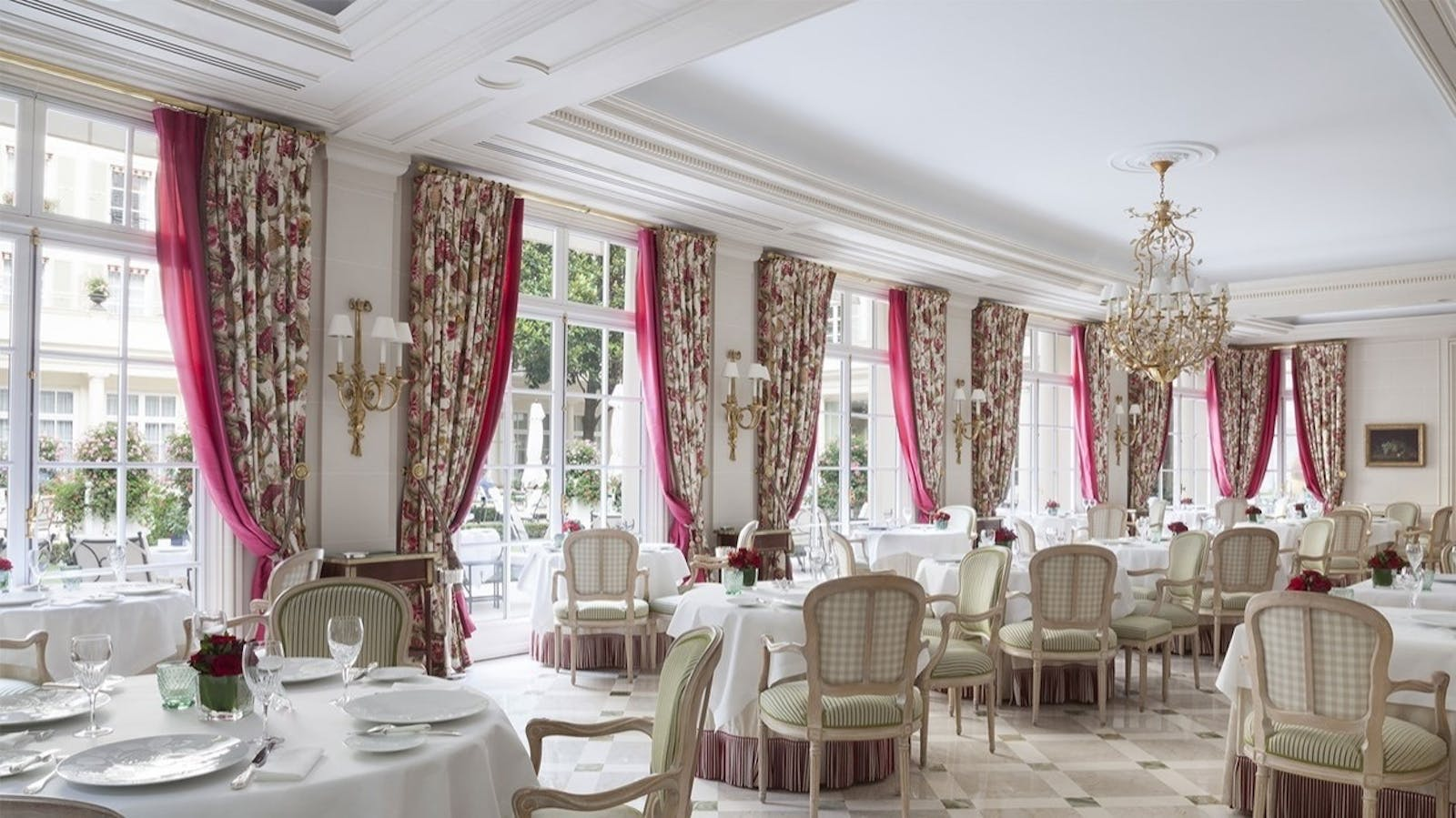 Epicure at Le Bristol, Paris, France