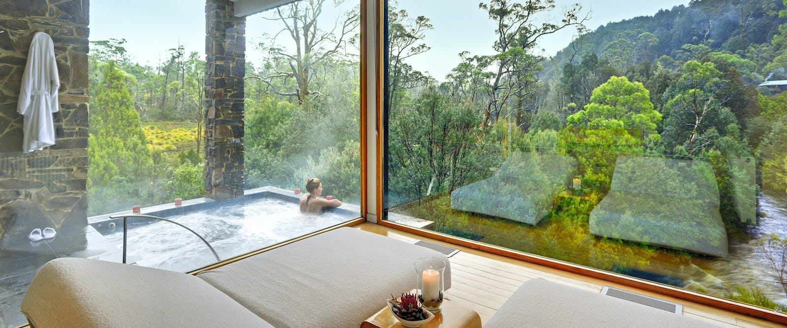 Spa, Peppers Cradle Mountain Lodge