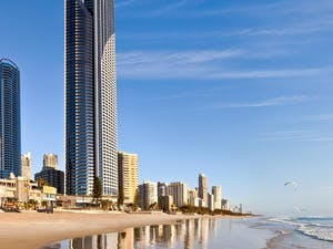 Exterior beach view, Peppers Soul, Gold Coast
