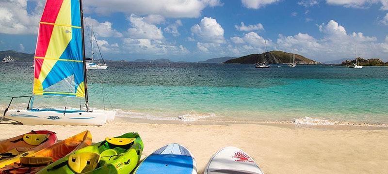 Water activities at Peter Island Resort & Spa, British Virgin Islands